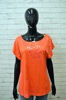 ADIDAS Donna Maglia Taglia XL Polo Blusa Shirt Women's Jersey Frau Poliestere