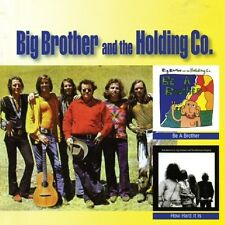 Be A Brother / How Hard Is It - Big Brother & The Holding Co. (2016, CD NUEVO)