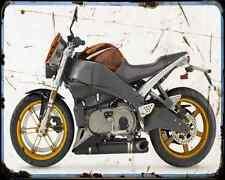 Buell Xb12S Lightning 04 2 A4 Metal Sign Motorbike Vintage Aged