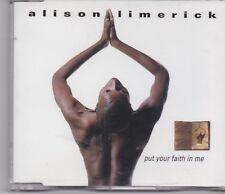 Alison Limerick-Put Your Faith In Me cd maxi single 10 tracks