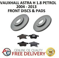 VAUXHALL ASTRA H 1.8 MK5 FRONT BRAKE DISCS AND PADS SET 5 STUD 04-13 *NEW**