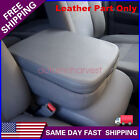 For Dodge Ram 2002-2008 Real Leather Center Console Lid Armrest Cover Gray