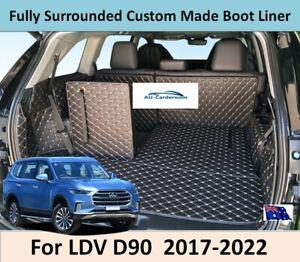 For LDV D90 2017-2022 Premium Custom Made Trunk Boot Mats Liner Cargo Cover