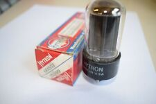 6AX5GT HYTRON VINTAGE TUBE WITH BLACK PLATES - NOS IN BOX