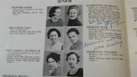 1935 THEODORE ROOSEVELT HIGH SCHOOL New York City YEARBOOK Annual Senior Saga