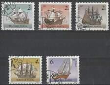 Hongarije gestempeld 1988 used 3966-3970 - Schepen / Ship