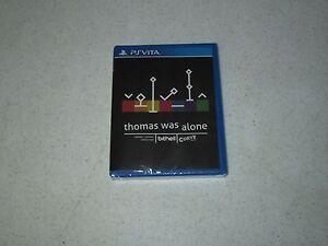 Thomas Was Alone Sony PlayStation Vita Limited Run #23 Sealed