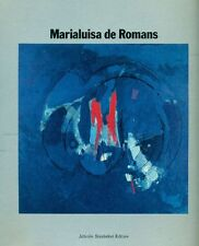 DE ROMANS Marialuisa, Marialuisa De Romans. Mondadori 1986