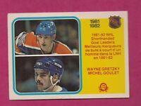 1982-83 OPC # 237 OILERS WAYNE GRETZKY GOAL LEADER NRMT CARD (INV# A5857)