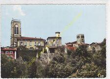 CPSM 69210 L'ARBRESLE Eglise & Ecole Champagnat Edit COMBIER 1971