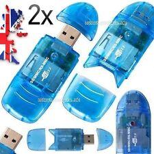 2X Multi USB 2.0 Memory Card Reader/Adapter SD/SD-HC/RS-MMC/RS-MMC DV/MMC PLUS