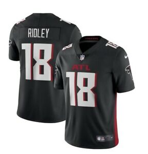 Calvin Ridley Nike NFL On-Field L Black Jersey Falcons NEW UNOPENED NWT L