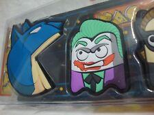 Pac Bat Magnet Set Pacman Batman Mash Up Joker Riddler Cat Wm Penguin Geek Fuel