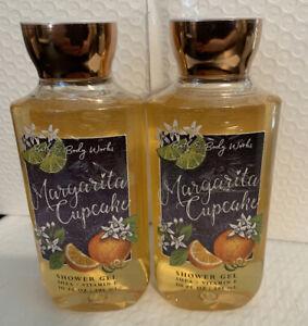 Bath And Body Works 2 Bottles Of Margarita Cupcake Shower Gel