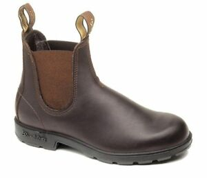 NEW Blundstone Style 500 Stout Brown Premium Leather Boots For Men