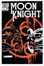 1)MOON KNIGHT #30(4/83)'vs. WEREWOLF BY NIGHT'(BILL SIENKIEWICZ)CGC IT(NM+)9.6!!