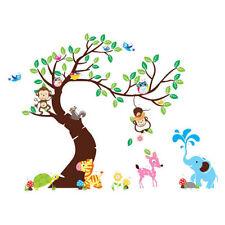 Tiere Kinderzimmer-Wandsticker/- tattoo
