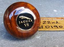 JAGUAR Gear Shift Knob Wood XJ6 XJS XJ8 XK8 XJR XKR S-Type XK Vanden Plas V8 NR!