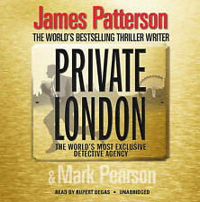 Private London: (Private 2) by James Patterson CD-Audio Book, 6 Discs Unabridged