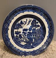 "Willow Johnson Bros England 6"" Dessert Plates- Excellent Condition"
