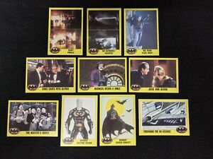 Batman Trading Cards SERIES TWO 2 - Lot of 20 - Original Movie - DC Joker