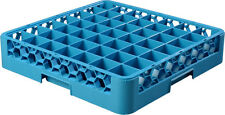 Carlisle 49-Compartment Glass Rack, Case of 6