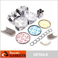 Pistons Bearings&Rings Set fit 02-06 Acura RSX Type-S / 06-11 Honda Civic 2.0L