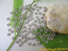 1000Pcs Tibetan Silver metal daisy spacer beads 4mm W228