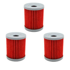 3x Oil Filters For Suzuki Quadsport LT160 LT230S Quadrunner LT160E LT230E LT250