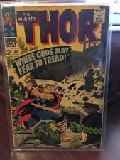 Thor #132 1st App Of Ego The Living Planet (1966 Lee/Kirby/Marvel)