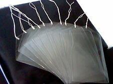 "10 x PVC PLASTIC STRUNG 125 x170mm-5x 7"" CARD/DISPLAY-HOLDER ARTnCRAFT-OLD STOCK"