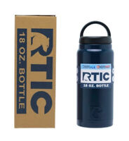 RTIC 18oz Bottle Double Wall Vacuum Insulated Stainless Steel NEW 2019 Navy Pink