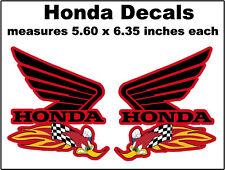 Decals Honda RC51 CBR1000 CBR600 CR80 CR125 CR250 CR500 CRF450 XR600 XR400 XR250