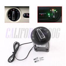 For VW Golf Mk4 Passat B5 Polo Auto Headlight Switch /Light Sensor Module Chrome
