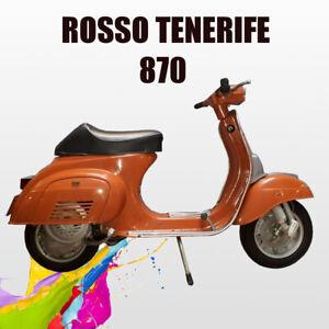 kit Vernice Acrilica smalto lucido diretto Rosso Tenerife per Vespa epoca 500g