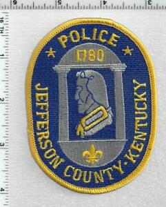 Jefferson County Police (Kentucky) 4th Issue Left Facing Shoulder Patch