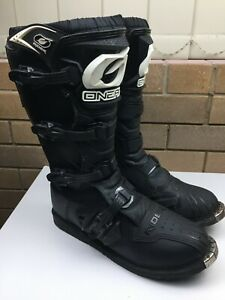 Oneal - Rider - Motorcycle Boots - MX - Size 14 - Black - Motorbike - Motocross