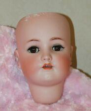 Large, Antique *Heinrich Handwerck // Simmon & Halbig* Bisque Doll Head