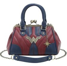 DC Comics Wonder Woman Kisslock Crossbody Bag Tote Purse Gift New With Tags!