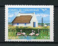 France 2018 MNH Mediterranean Houses EUROMED 1v Set Birds Architecture Stamps