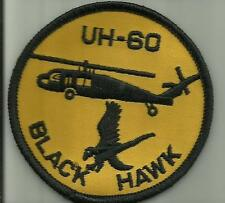 UH-60 BLACK HAWK HELICOPTER PATCH HELO AIRCRAFT PILOT ARMY NAVY USMC USAF FLY