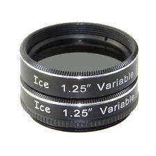 "Ice 1.25"" Variable Polarizing Eyepiece Moon Filter Telescope Polarizer / Orion"