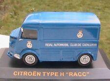 CITROEN TYPE H RACC ESPAGNE IXO ALTAYA 1/43 BLEU SPANIA TOLE BLAU BLUE