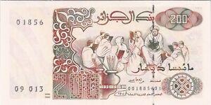ALGERIE : 200 DINARS 1992 NEUF - P.138