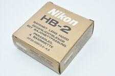 *Unused* Genuine Nikon HB-2 bayonet Lens Hood for AF 35-105mm f3.5-4.5 #1219