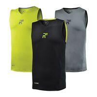 RunFlyte Men's Hybrid Tank Top Training Running Fitness Workout Yoga Gym f1004