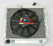 Aluminum Radiator& FAN For Renault Super 5 GT R5 R9 / R11 1.4 1985-1991 Turbo AT