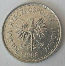 1 zl zloty 1949 <<==>> 1957 <<===>> 1995  Polen Polska PoloniaY#45 Y#49 Pologne