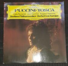 Puccini : Tosca Highlights - Karajan DDG 2537 058 lp