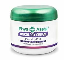 PHYS ASSIST Oncology Cream 4 oz. Jar- For Radiation, Chemo! Helps Skin!!